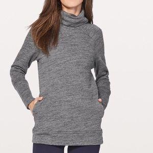 Lululemon Funnel Neck Sweater